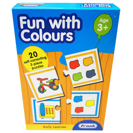 【Frank】Frank 全腦開發 EARLY LEARNER 小小學習者系列-顏色樂趣