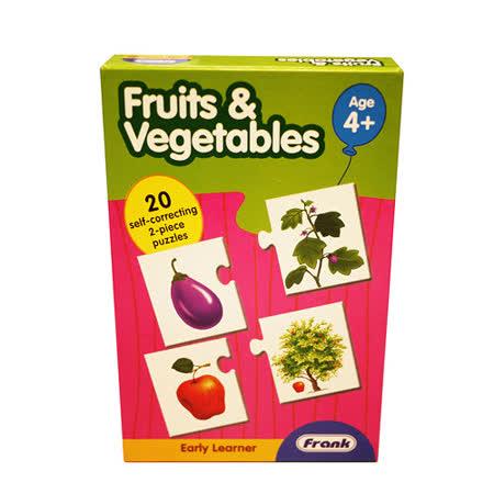 【Frank】Frank 全腦開發 EARLY LEARNER 小小學習者系列-蔬菜水果