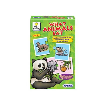 【Frank】Frank 全腦開發 EARLY LEARNER 小小學習者系列-動物吃什麼