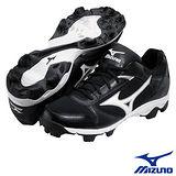 【Mizuno】棒壘球鞋 9-SPIKE FRANCHISE6(黑色款)320401.9000