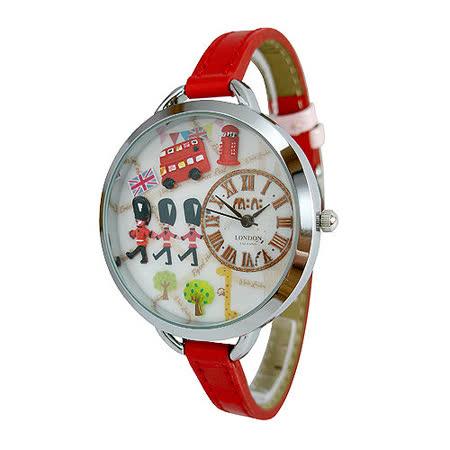 【韓國MINI】手工軟陶創意手錶-皇家騎兵(無盒裝)