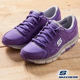 SKECHERS(女) 慢跑鞋智慧生活系列- 無畏第二代12479PUR