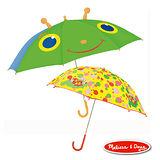 美國瑪莉莎Melissa&Doug卡通造型安全雨傘*2入
