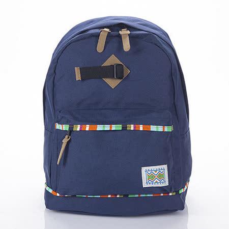 SKECHERS Backpack 藍色後背包-7450149