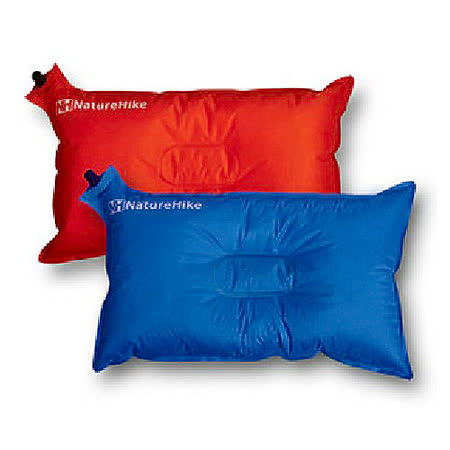 PUSH!登山戶外用品 自動充氣枕頭 頭枕