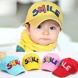 百搭《帥氣SMILE》兒童棒球帽 遮陽帽 鴨舌帽(現貨+預購)