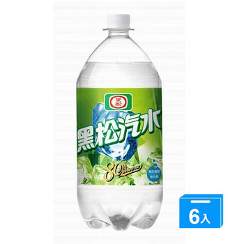 黑松汽水2000ml*6入/箱