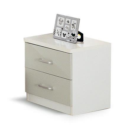 【喬立爾】最愛傢俱 星空物語 雙抽床頭櫃