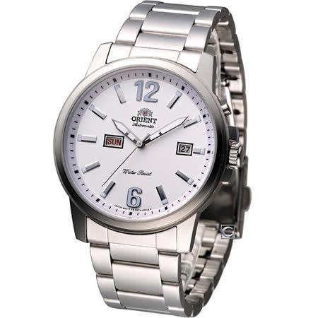 ORIENT 東方簡約大器機械腕錶 FEM7J008W