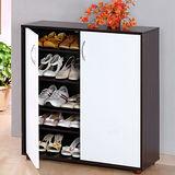 環保E1雙色雙門鞋櫃