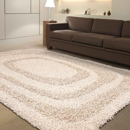 【范登伯格】西雅圖質地蓬鬆風格獨特不失奢華進口長毛地毯-160X230cm