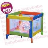 BabyBabe 方型彩繪遊戲床