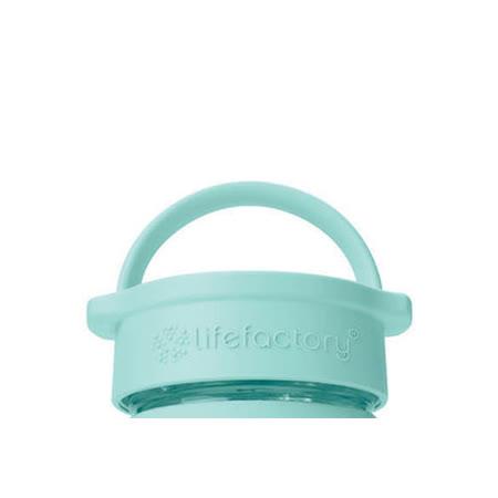 美國唯樂Lifefactory 飲水手把蓋-藍綠 LF240008