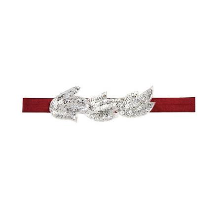 美國TutimNYC手工髮圈 - 紅色葉子 TTH007