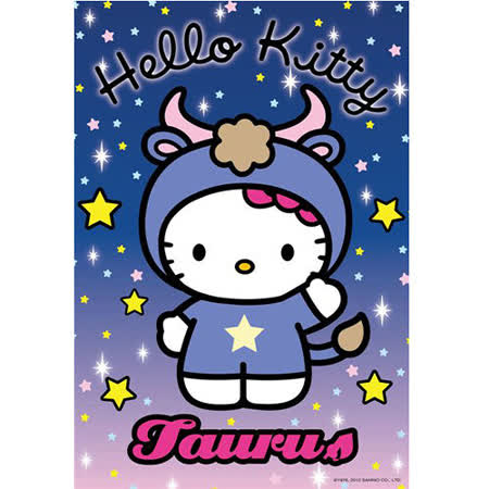 【SANRIO三麗鷗家族拼圖】Hello Kitty-星座系列-金牛座 300 pcs