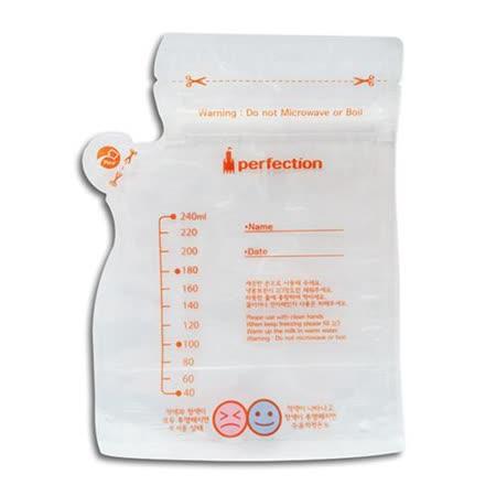 【傳佳知寶】茶壺型直立式辨溫母乳冷凍袋 (240ml--20入x3盒)