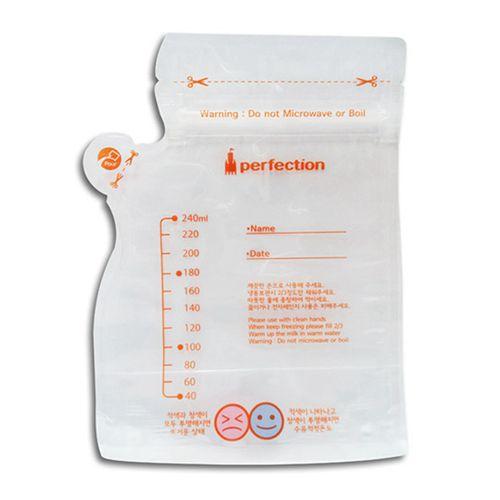 ~傳佳知寶~茶壺型直立式辨溫母乳冷凍袋 ^(240ml~~20入x3盒^)