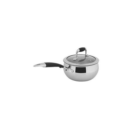 【歐喜廚】OSICHEF 蘋果系列-不鏽鋼奶鍋16cm