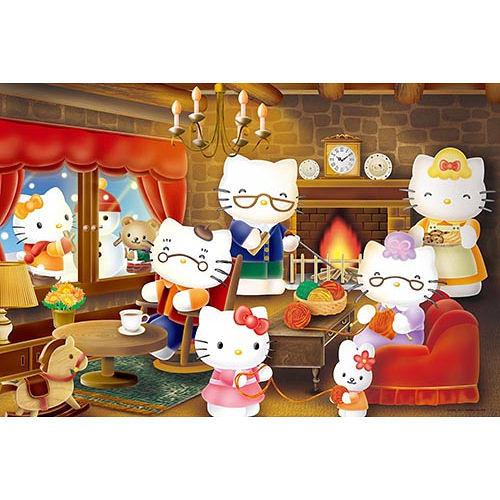 【sanrio三丽鸥家族拼图】hello kitty-冬季团圆 1000 pcs