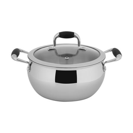 【歐喜廚】OSICHEF蘋果系列-不鏽鋼湯鍋20cm