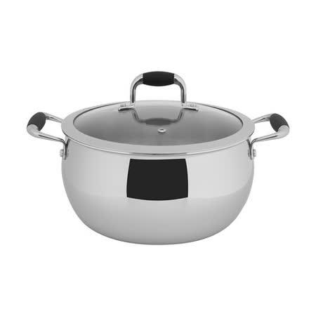 【歐喜廚】OSICHEF 蘋果系列-不鏽鋼湯鍋24cm