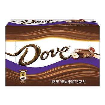 德芙榛果果粒巧克力96g
