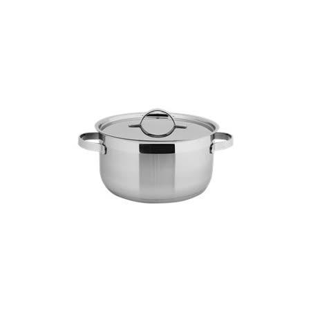 【歐喜廚】OSICHEF 極美系列-不鏽鋼湯鍋24cm