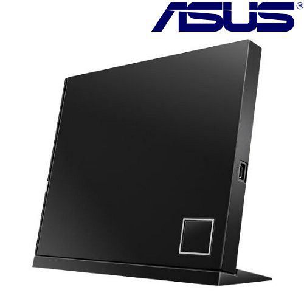 華碩 ASUS 6X 外接式藍光燒錄機^(SBW~06D2X~U^) 晶鑽黑~加送光碟機保
