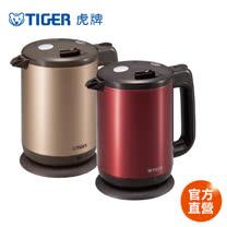 【TIGER 虎牌】1.0L 時尚造型電器快煮壺(PCD-A10R)買就送虎牌350cc彈蓋式保冷保溫杯(隨機出貨)