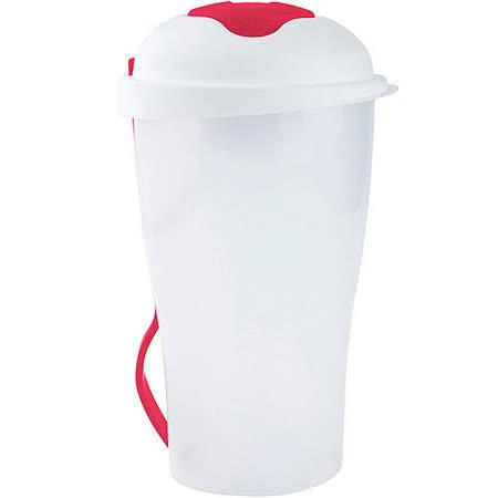 《GALZONE》附叉冷食餐杯(桃)