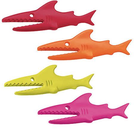 《KOZIOL》鯊魚袋口密封夾(4入)