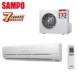 SAMPO聲寶 11-15坪一對一變頻單冷分離式冷氣(AM-T63D/AU-T63D)送安裝★七年保固