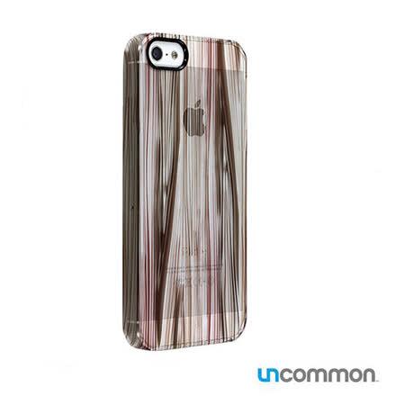 Uncommon iPhone5 / 5s 透明背蓋系列 - Woodgrain Dark
