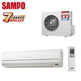 SAMPO聲寶 10-13坪一對一變頻冷暖分離式冷氣(AM-T56DC/AU-T56DC)送安裝★七年保固