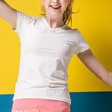 【MORINO摩力諾】抗UV透氣吸汗短袖衫-白色