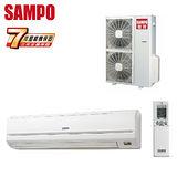 SAMPO聲寶 17-23坪一對一定頻單冷分離式冷氣(AM-PY100L/AU-PY100)送安裝★七年保固