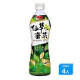 《泰山》仙草蜜茶500ml*4入