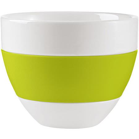 《KOZIOL》拿鐵隔熱瓷杯(綠)