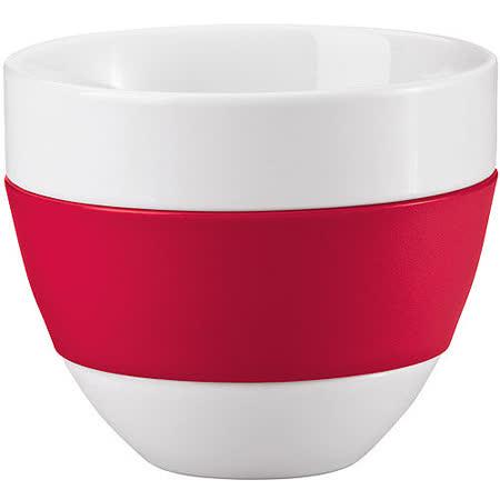 《KOZIOL》拿鐵隔熱瓷杯(紅)
