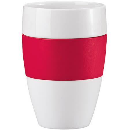 《KOZIOL》隔熱馬克瓷杯(紅)