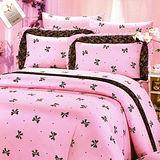 《浪漫公主》100%純棉雙人四件式涼被床包組(台灣製)~二色選一