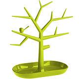 《KOZIOL》樹梢鳥珠寶架(綠M)
