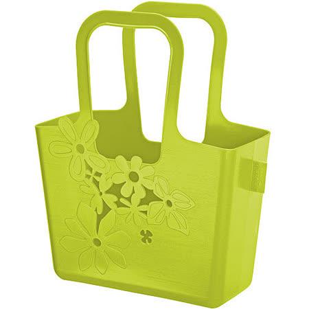 《KOZIOL》花漾萬用收納袋(綠M)