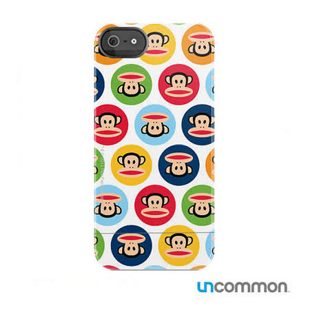 Uncommon iPhone5 / 5s Paul Frank系列 滑蓋保護殼- Classic Dots Julius