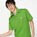 【LEIDOOE】斜紋領青綠底男款短袖POLO衫 76169
