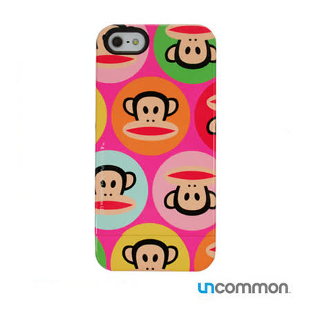 Uncommon iPhone5 / 5s Paul Frank系列 滑蓋保護殼- Pink Dots julius