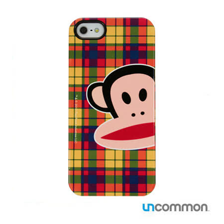 Uncommon iPhone5 / 5s Paul Frank系列 滑蓋保護殼- Multiplaid Julius