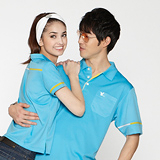 【LEIDOOE】天藍風尚針織男款短袖POLO衫 36162
