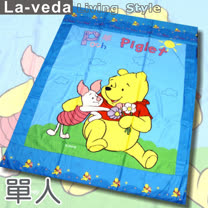 La Veda【迪士尼】單人被套-維尼好朋友(136x197cm)
