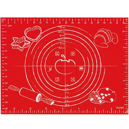 《MASTRAD》多功能烤焙墊(紅)